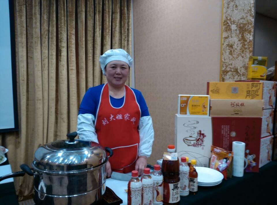 谷子孕婴携手刘大姐月嫂中心举办第二届月子餐试吃会